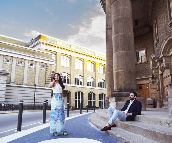 Jasveen and Ravneet's Eshoot at U of T