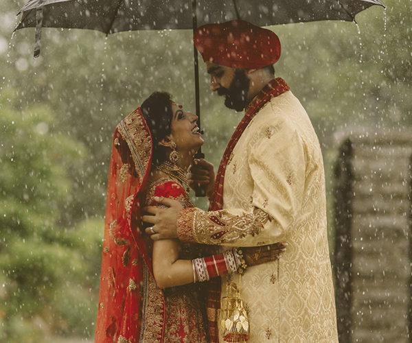 Richa & Raj . Rain
